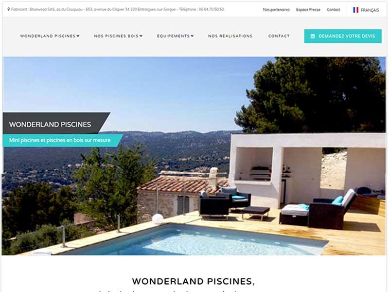 wonderland piscines